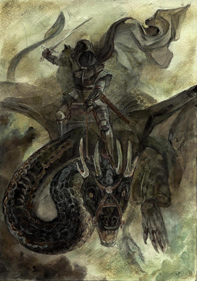 LOTR: Winged Death by Unita-N