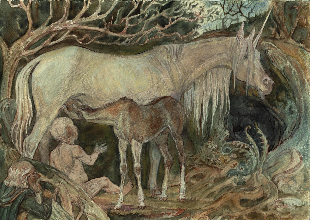 mother unicorn by Unita-N