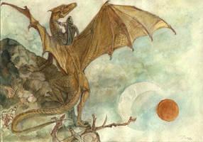 Pern dragon riders by Unita-N