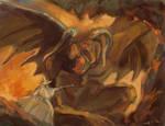 LOTR: Gendalf and balrog