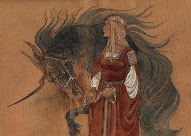 Hellsing: Lady and Unicorn by Unita-N