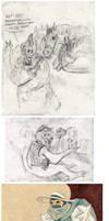 A Monster in Paris sketchdump