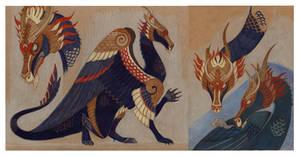 Character sheet: Old Guardian by Unita-N