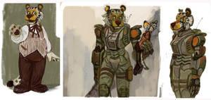 Mechanical Instinct: Leopold (more on Patreon) by Unita-N
