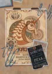 Unicorn auction: SKYWAY artbook +speedpaint