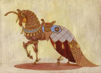 Robot unicorn (2) + TIMELAPSE