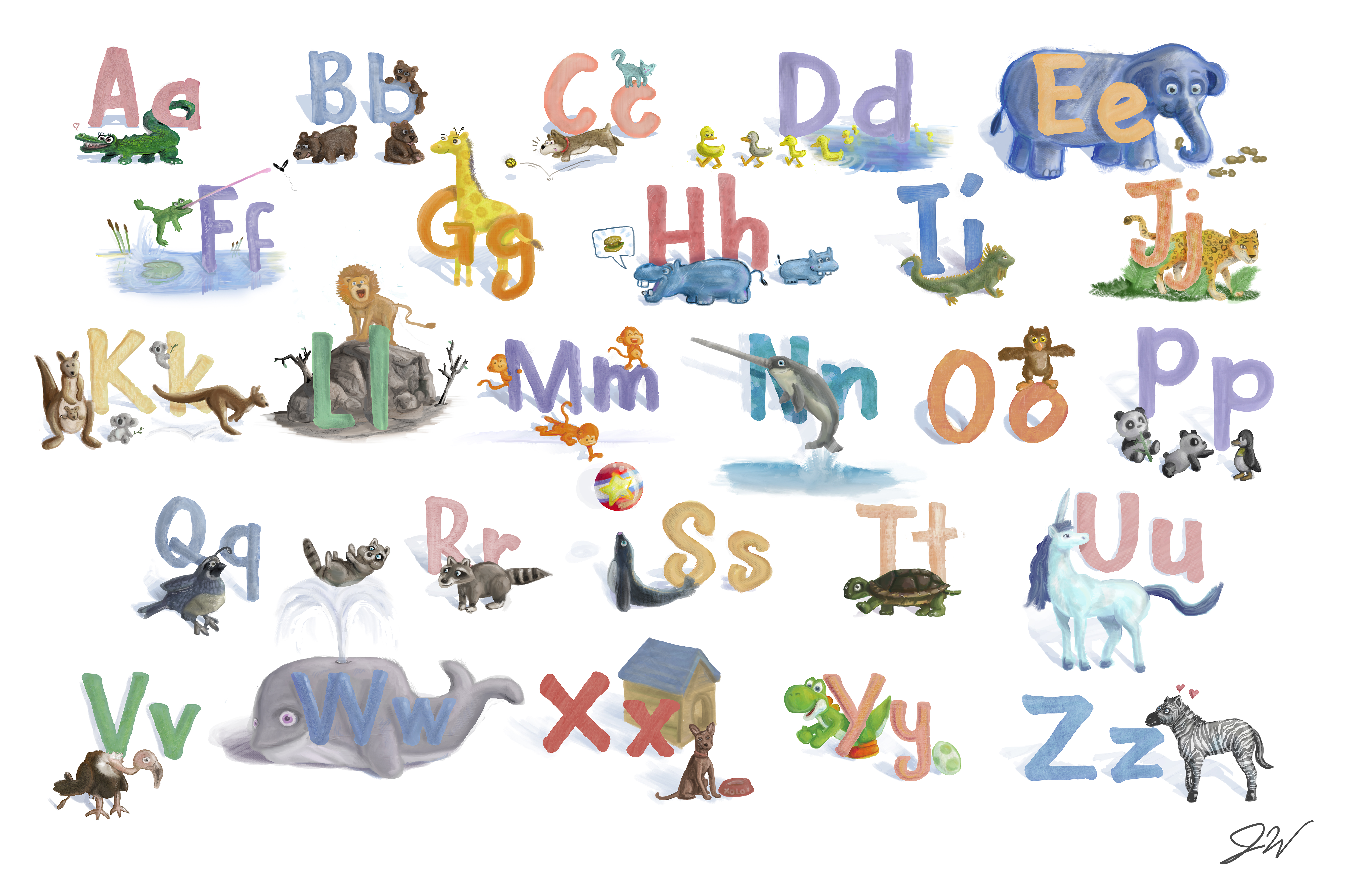 All A to Z HD Alphabets and Letters For Whatsapp DP