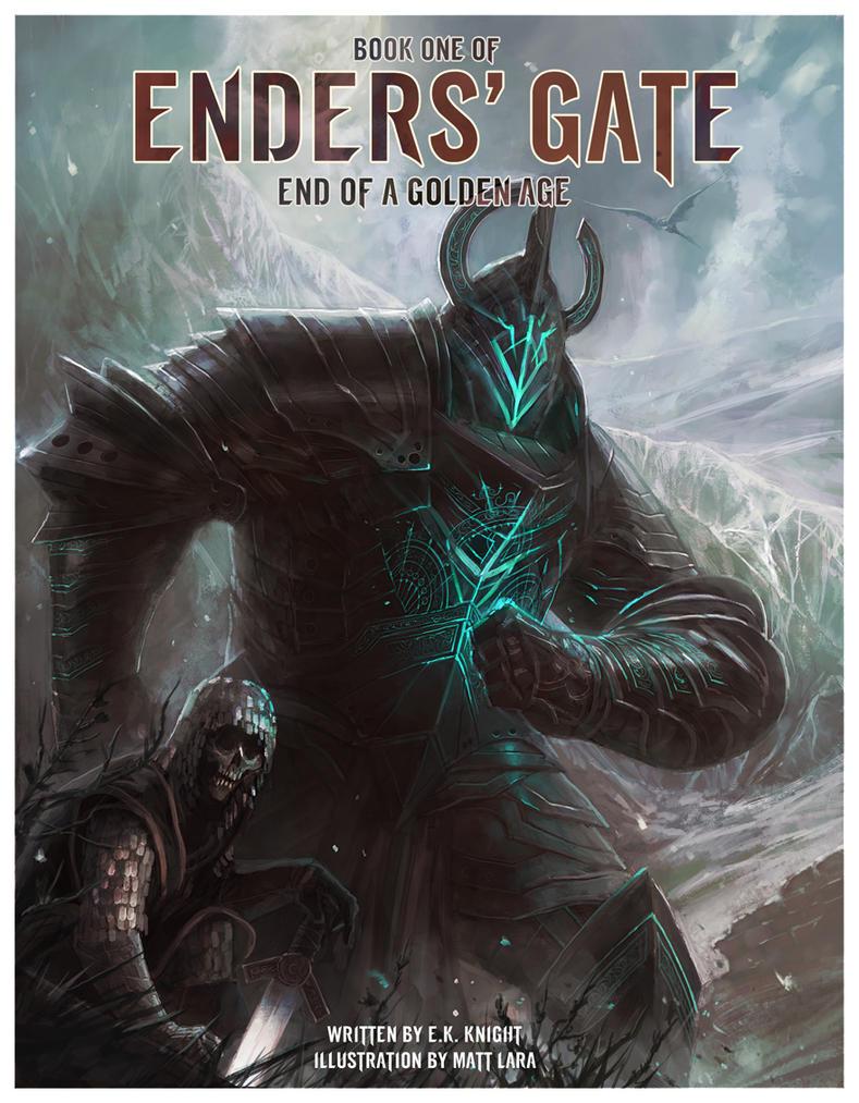 Enders' Gate: Alternate Book Cover for EOAGA by EKKnight