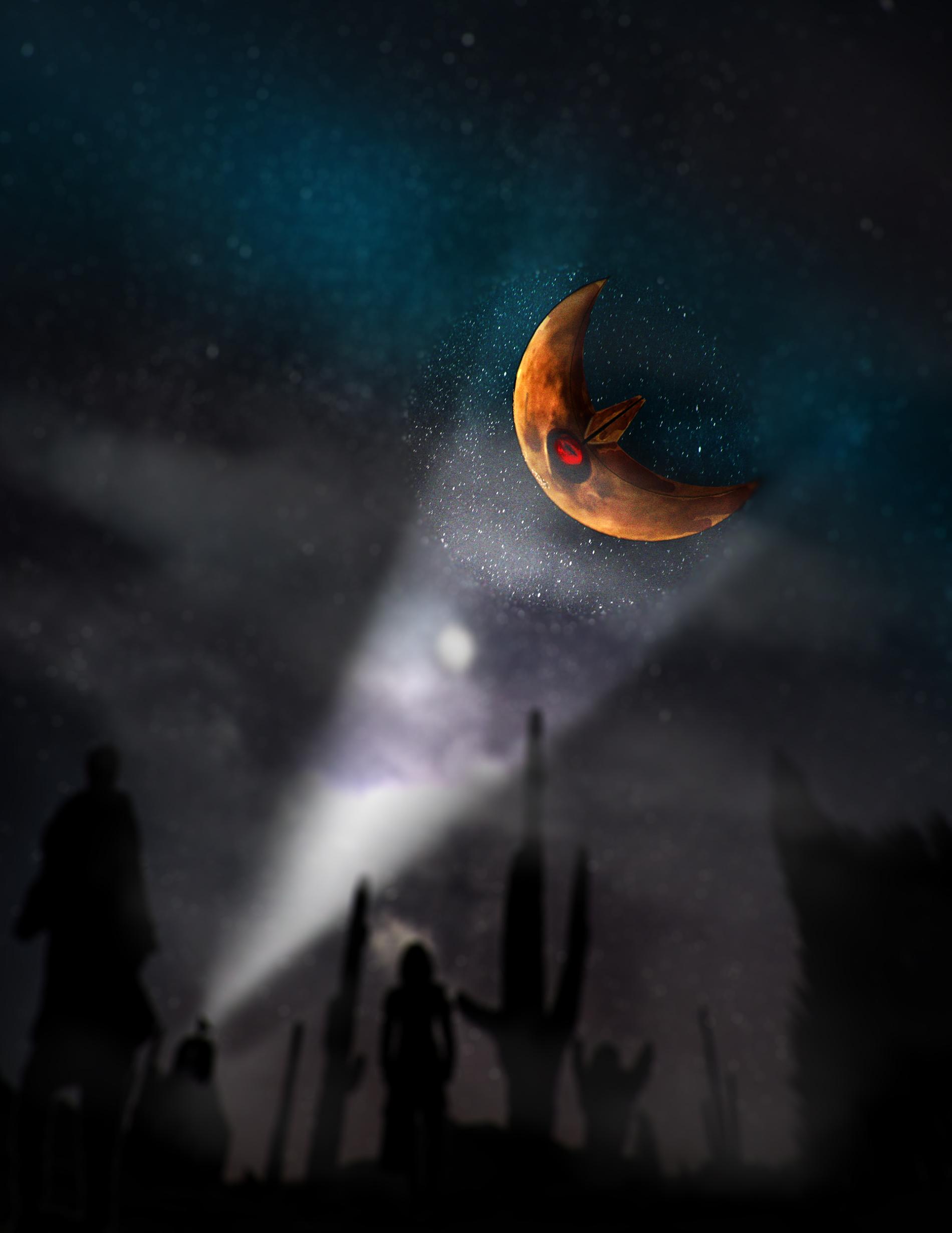Lunatone in the Midnight