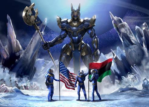 55 Cancri E The Diamond Planet. Pan Africanism