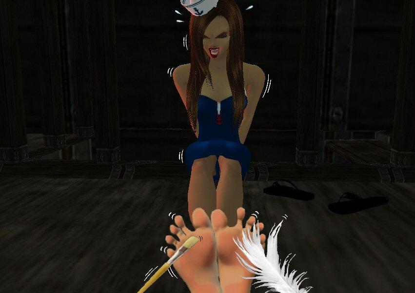 Sheila's Feet Tickled by sahrkastik