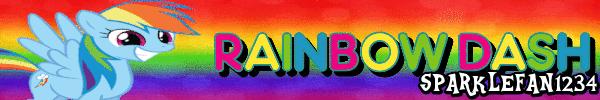 Rainbow Dash Signature