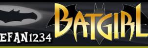 Batgirl Bat Signal signature