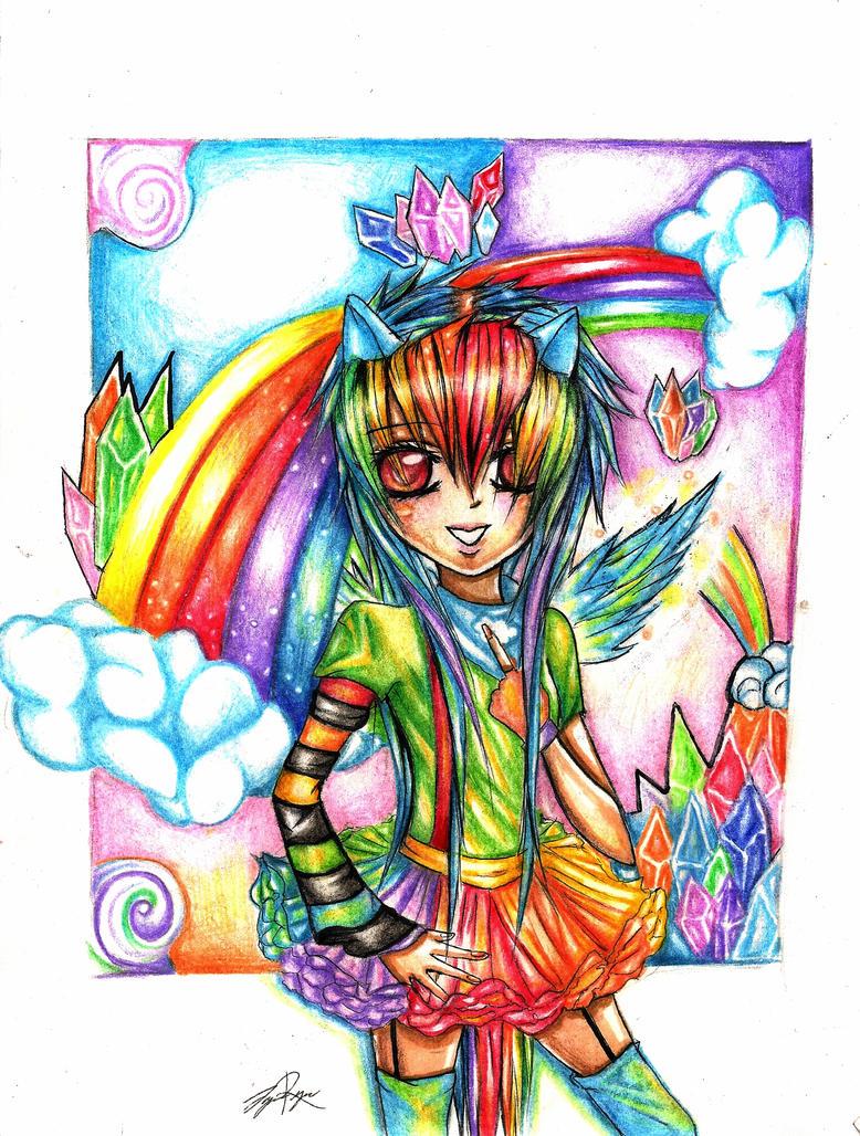 Rainbow dash by SakiiBunny