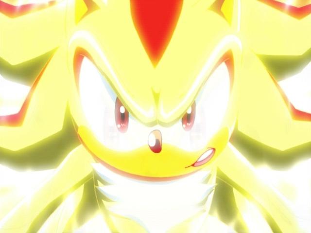 Sonic x  Super Shadow The Hedgehog 1 by AleksandraCageletCom