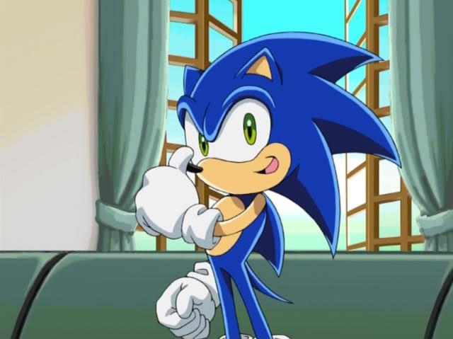 Sonic X Sonic The Hedgehog By Aleksandracageletcom On Deviantart