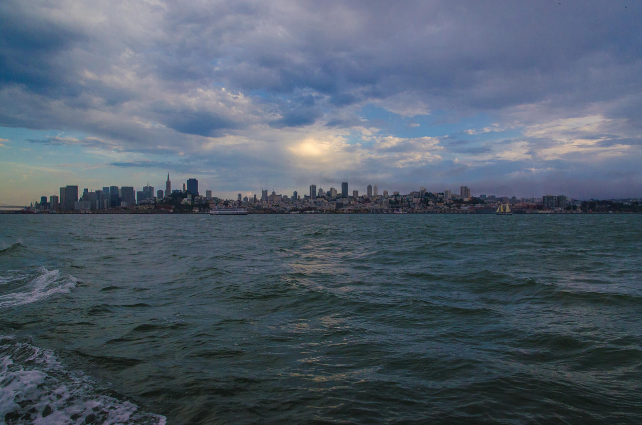 San Francisco at Sunset by the3dman