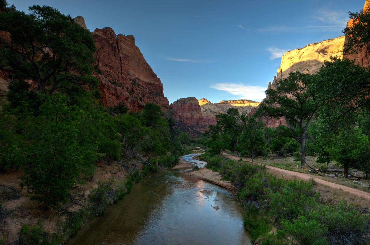 Zion at Sunset by the3dman