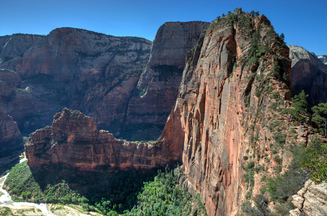 Angel's Landing at Zion by the3dman