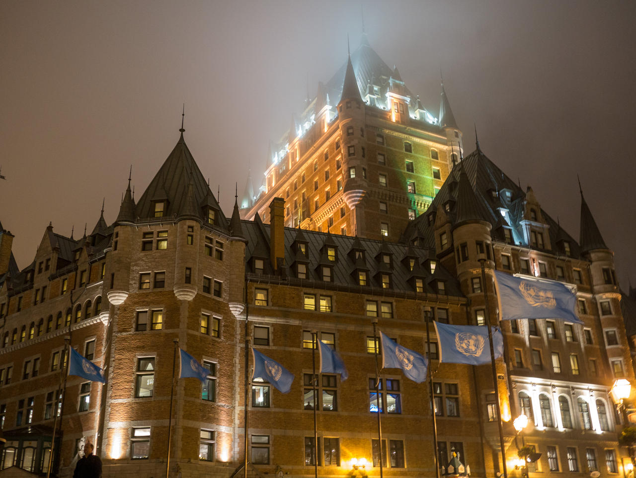 Hotel Fairmont Chateau Frontenac by the3dman