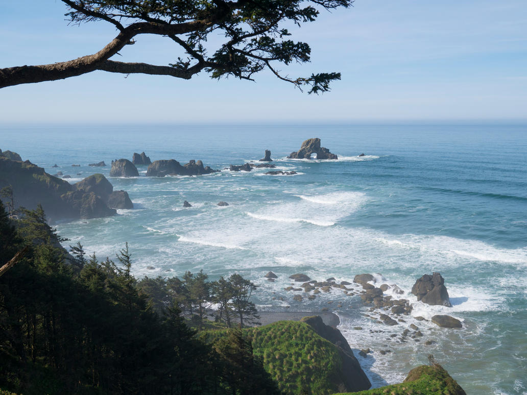 Oregon Coast by the3dman