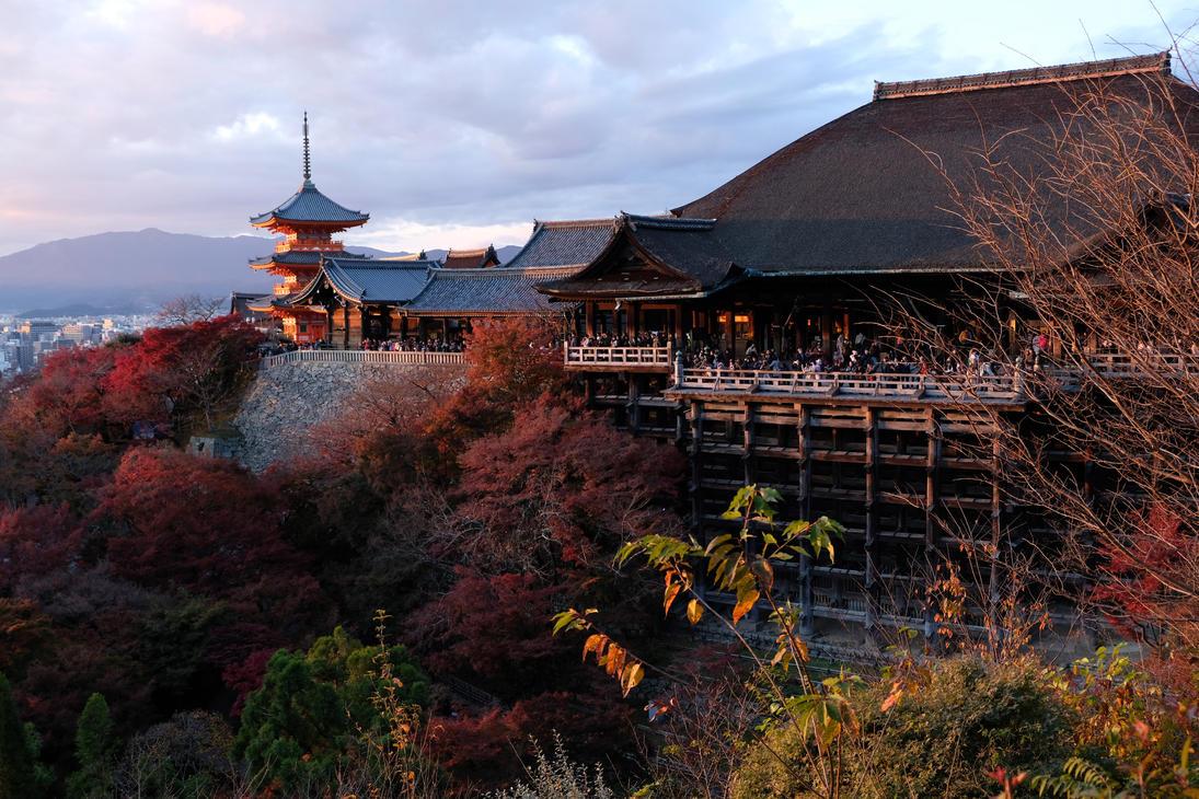 Kiyomizu-dera plus Pagoda by the3dman