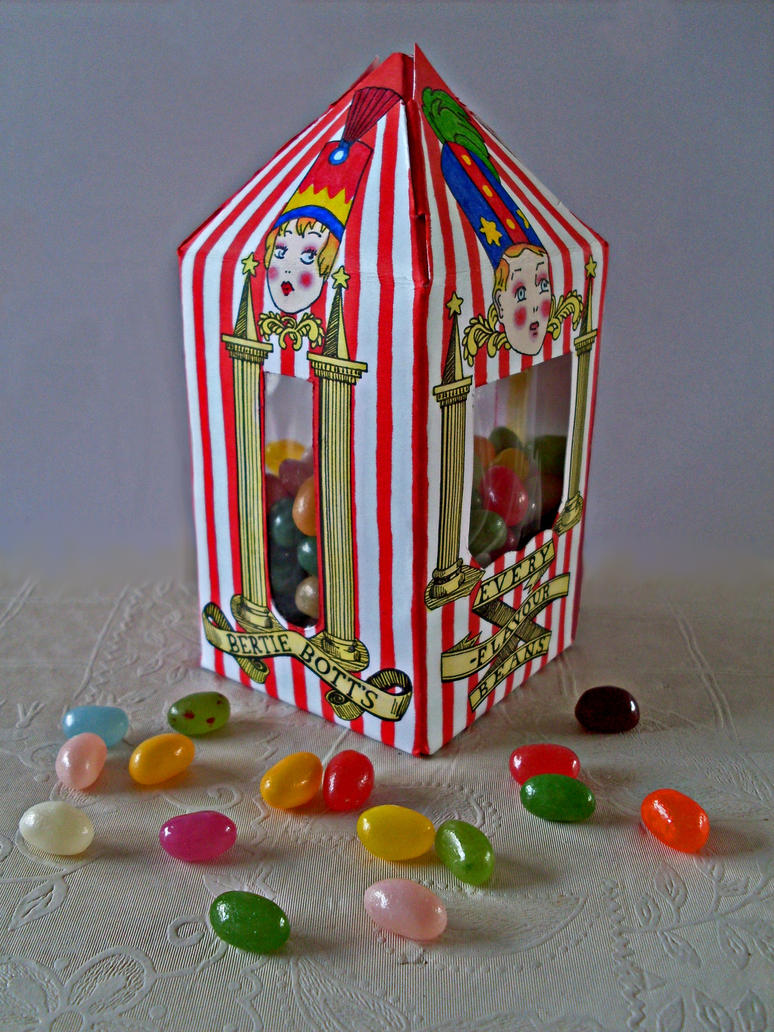 Bertie Botts Beans Box By Gwendolynwolters On Deviantart