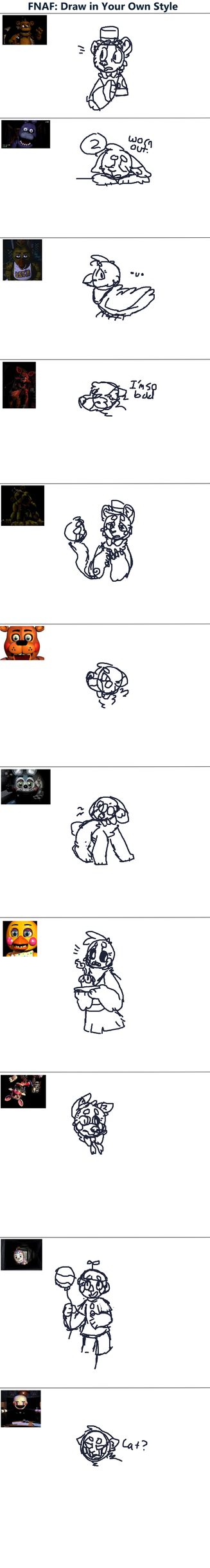 MEME // Fnaf Draw Your Own by Rainmask64