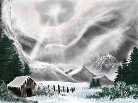 Digitally Painting with Bob Ross S01EP04