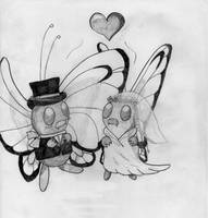 PokeSeries (Pencil) #012 Butterfree