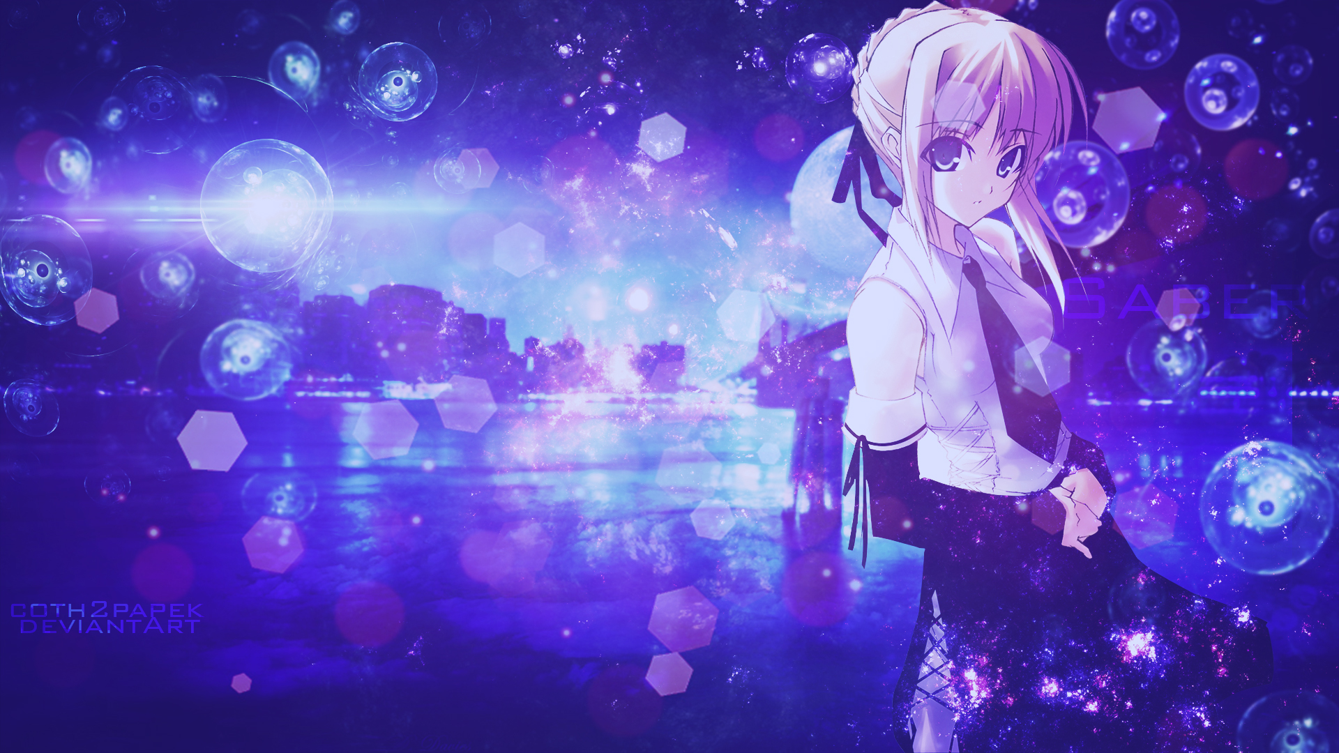 Saber Fate Stay Night Wallpaper By Coth2papek On Deviantart