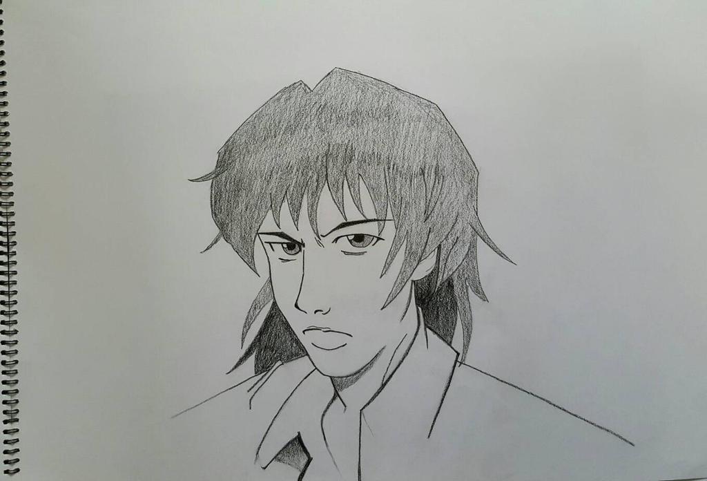 Realistic manga face (male)
