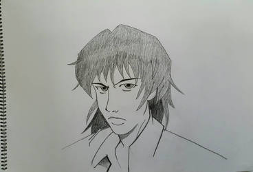 Realistic manga face (male)