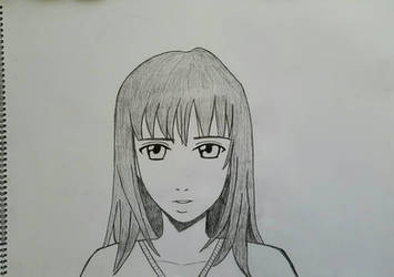 Realistic manga face (female)