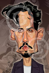 Johnny Depp by RussCook