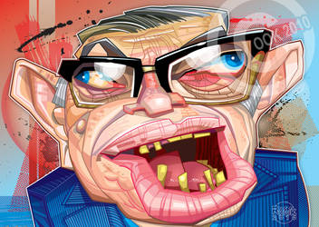 Jean-Paul Sartre by RussCook