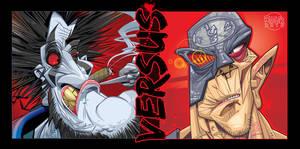 Lobo v's Mean Machine Angel