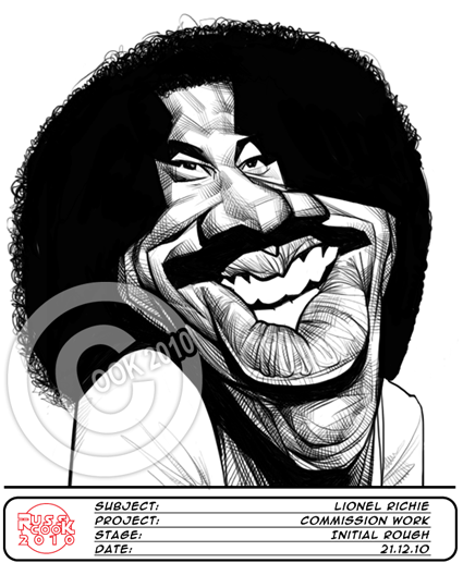 Lionel Richie by RussCook