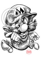 Mario by RussCook