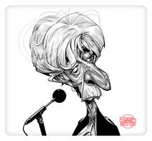 Christine Lagarde by RussCook