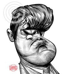 Magnus Carlsen by RussCook