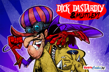 Dick Dastardly and Muttley by RussCook