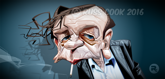 Mark E Smith by RussCook