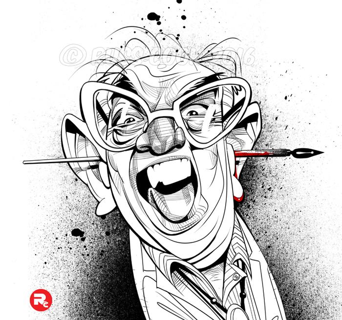 Ralph Steadman by RussCook