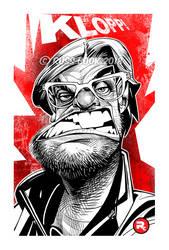 Jurgen Klopp Caricature by RussCook
