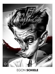 Egon Schiele by RussCook