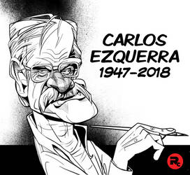 Carlos Ezquerra caricature by RussCook