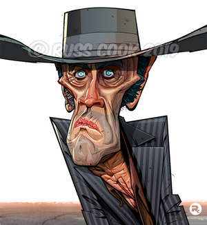 Henry Fonda Caricature