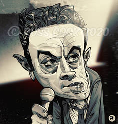 Lenny Bruce caricature