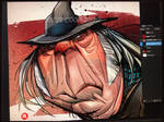 Neil Young Caricature screengrab